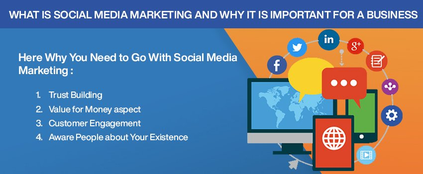 What is social media marketing and why it is important for a business?
